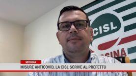 Messina. Misure anticovid, la Cisl scrive al Prefetto