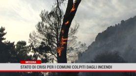 Messina. Stato di crisi per i comuni colpiti dagli incendi