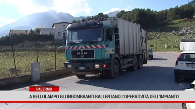 Palermo. A Bellolampo gli ingombranti rallentano l'operatività dell'impianto