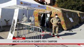 Palermo. Anche le Forza Armate in campo per i tamponi