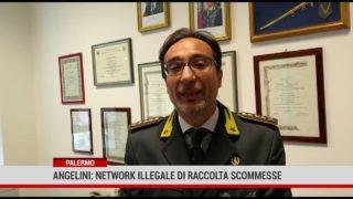 """Palermo. Angelini:"""" Network illegale di raccolta scommesse """""""