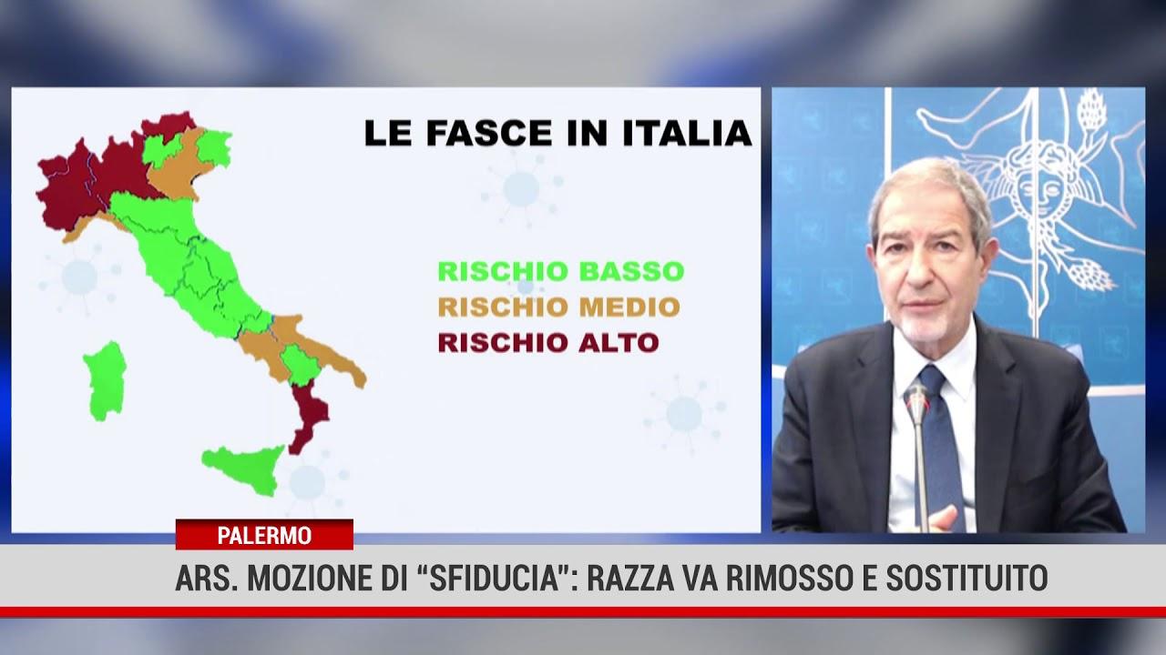 """Palermo. Ars. Mozione di """"sfiducia"""":  Razza va rimosso e sostituito"""