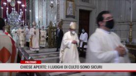 Palermo. Chiese luoghi sicuri: celebrazione delle messe in presenza