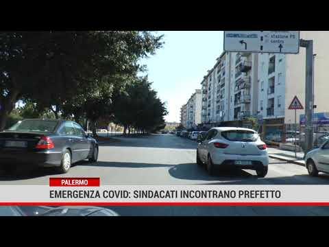 Palermo. Emergenza covid: i sindacati incontranoil Prefetto