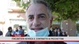 Palermo.Fincantieri revoca il contratto ai Picchettini