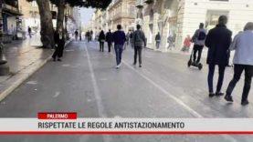 Palermo. Fine settimana senza assembramenti
