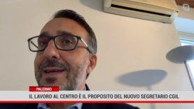 Palermo. Il lavoro al centro è il proposito del nuovo segretario Cgil
