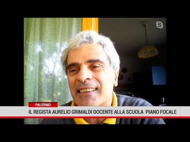 Palermo. Il regista Aurelio Grimaldi docente alla scuola Piano Focale
