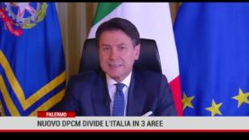 Palermo. Nuovo Dpcm divide l'Italia in 3 aree