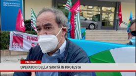 Palermo. Operatori della sanità in protesta