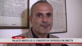 Palermo. Palazzo Abatellis: il concerto di Capossela in diretta