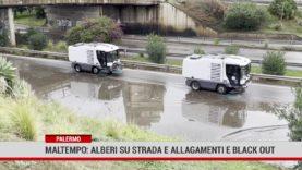 Palermo. Pioggia incessante, black out e disagi in città e provincia