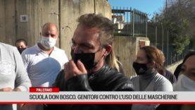 Palermo. Scuola Don Bosco. Genitori contro l'uso delle mascherine