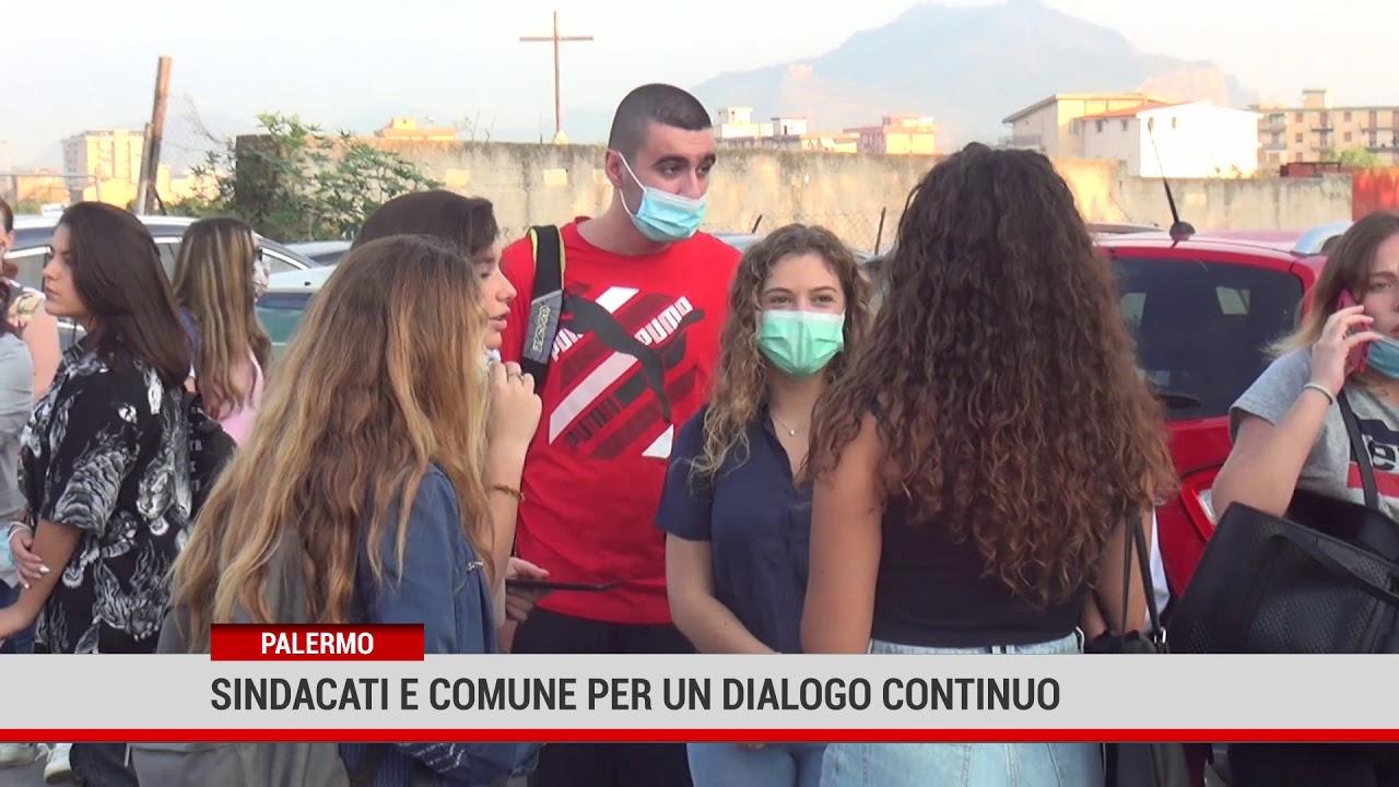 Palermo.Sindacati e Comune per un dialogo continuo