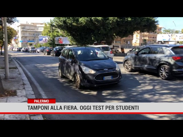 Palermo. Tamponi alla Fiera, oggi test per studenti