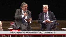 """Palermo. Teatro Massimo: """" Non vi lasceremo senza musica"""""""