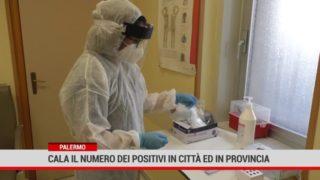 Scende il numero dei positivi a Palermo e provincia