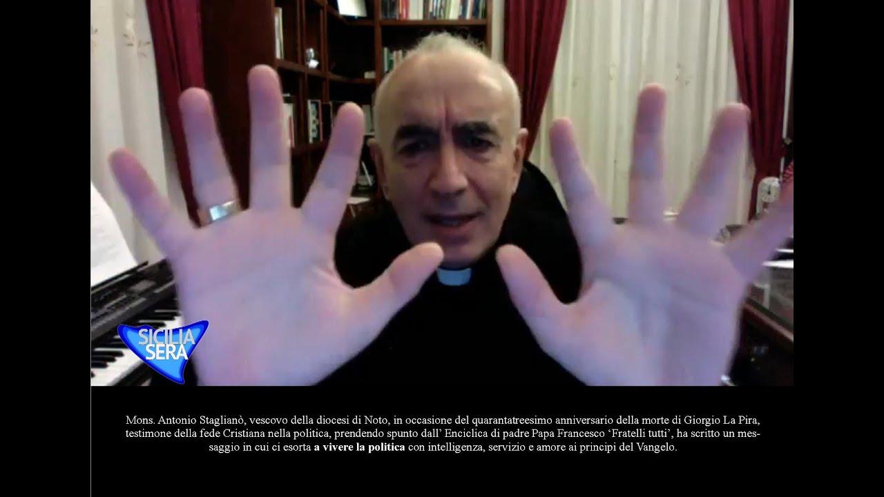 SICILIA SERA – FILIPPO CUCINA INTERVISTA SUA ECCELLENZA MONSIGNOR ANTONIO STAGLIANO' VESCOVO DI NOTO