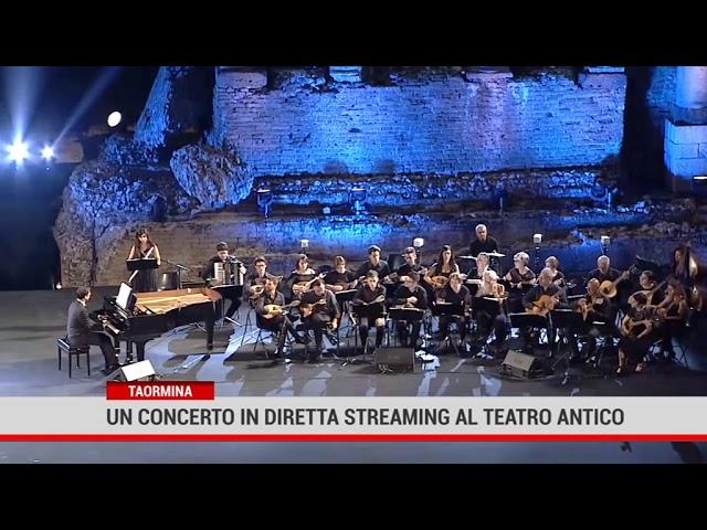 Taormina. Un concerto in diretta streaming al Teatro Antico