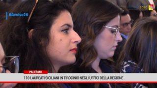 110 laureati siciliani in tirocinio negli uffici della Regione grazie al fondo sociale europeo