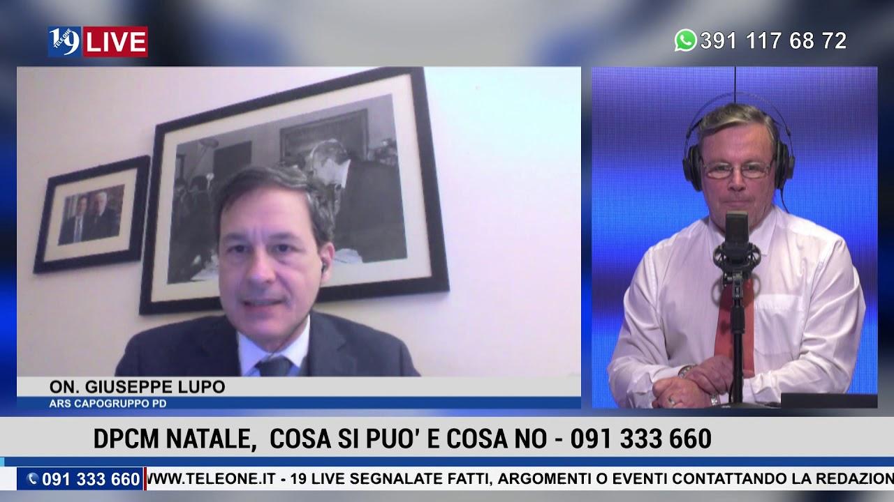19LIVE DPCM NATALE, COSA SI PUO' E COSA NO. con On. Giuseppe Lupo e On Vincenzo Figuccia