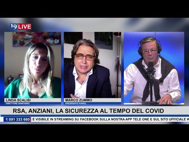 19LIVE RSA, SICUREZZA AL TEMPO DEL COVID, con Marco Zummo  e Linda Scalisi