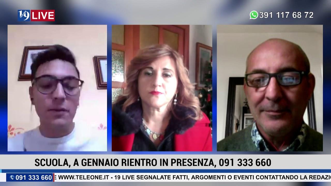 19LIVE SCUOLA RIENTRO IN PRESENZA 1a parte con D.Crimi, V.Pecoraro e M.Bisconti