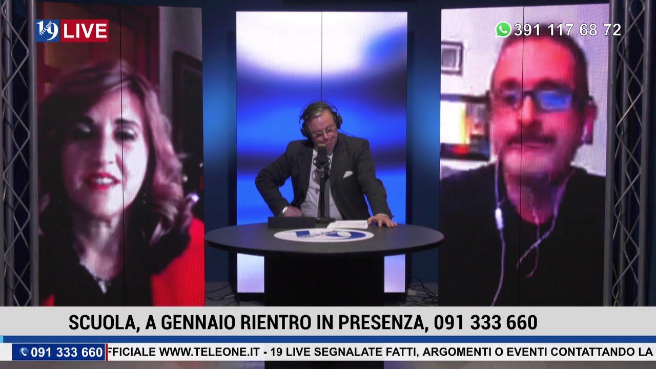 19LIVE SCUOLA, RIENTRO IN PRESENZA 2a parte con D.Crimi, K.Casales e S.Ingroia