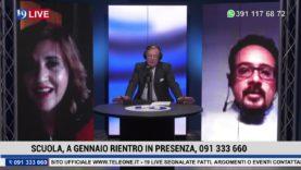 19LIVE SCUOLA, RIENTRO IN PRESENZA 3a parte con D.Crimi e N.Catania