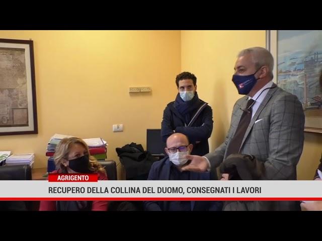 Agrigento: recupero della collina del Duomo, consegnati i lavori