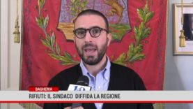 Bagheria. Rifiuti: il sindaco diffida la Regione per danno all'immagine della Città.