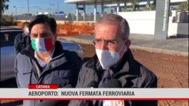 Catania. Aeroporto: nuova fermata ferroviaria