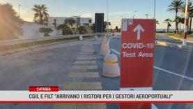"""Catania. Cgil e Filt """"arrivano i ristori per i gestori aeroportuali"""