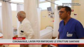 Catania. Coronavirus, lavori per rinforzare le strutture sanitarie