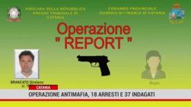 Catania. Operazione antimafia, 18 arresti e 37 indagati