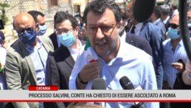 Catania. Processo Salvini, Conte ha chiesto di essere ascoltato a Roma