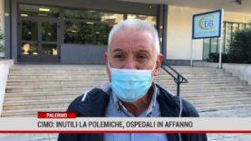 """Cimo: """"Gli ospedali sono già in affanno,  lo avevamo denunciato già due mesi prima dell' emergenza."""