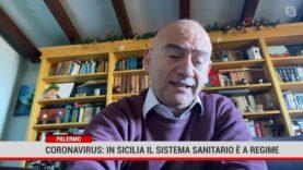 Coronavirus: in Sicilia il sistema sanitario è a regime