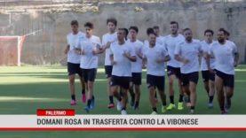 Domani il Palermo in trasferta contro la Vibonese