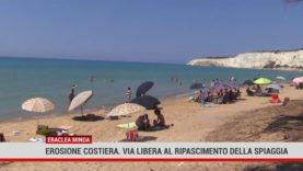 Eraclea Minoa. Erosione costiera: via libera al ripascimento della spiaggia