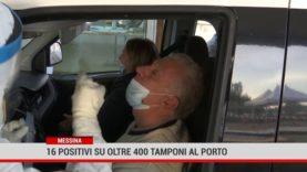 Messina: 16 positivi su oltre 400 tamponi al porto