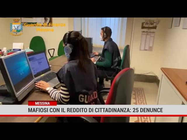 Messina. Mafiosi con il reddito di cittadinanza: 25 denunce
