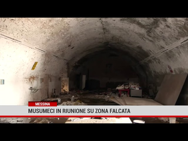 Messina. Musumeci in riunione su Zona Falcata