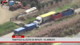 Messina. Traffico illecito di rifiuti: 16 arresti