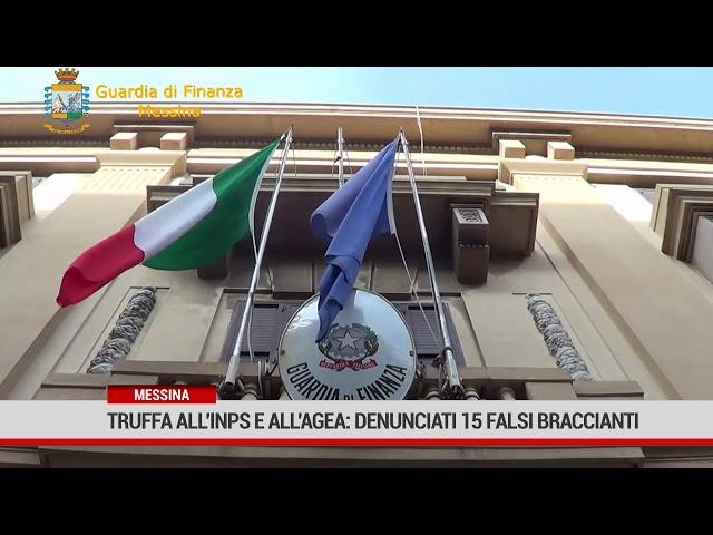 Messina. Truffa all'Inps e all'Agea: denunciati 15 falsi braccianti