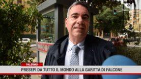 Palermo. 20 presepi nella garitta di Giovanni Falcone