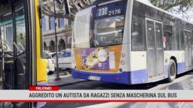 Palermo. Aggredito un autista da ragazzi saliti sul bus senza mascherina