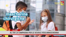 Palermo.Al via la campagna per le scuole: #sulamascherina
