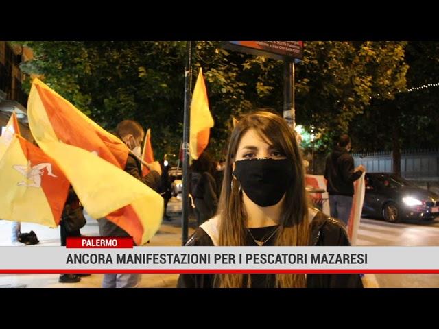 Palermo. Ancora manifestazioni peri pescatori mazaresi