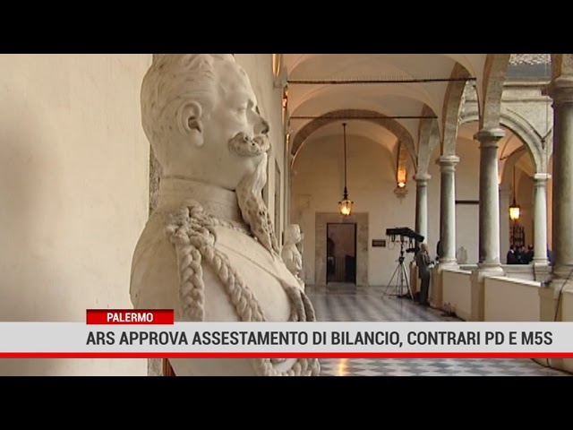 Palermo. Ars approva assestamento di bilancio, Contrari Pd e M5S